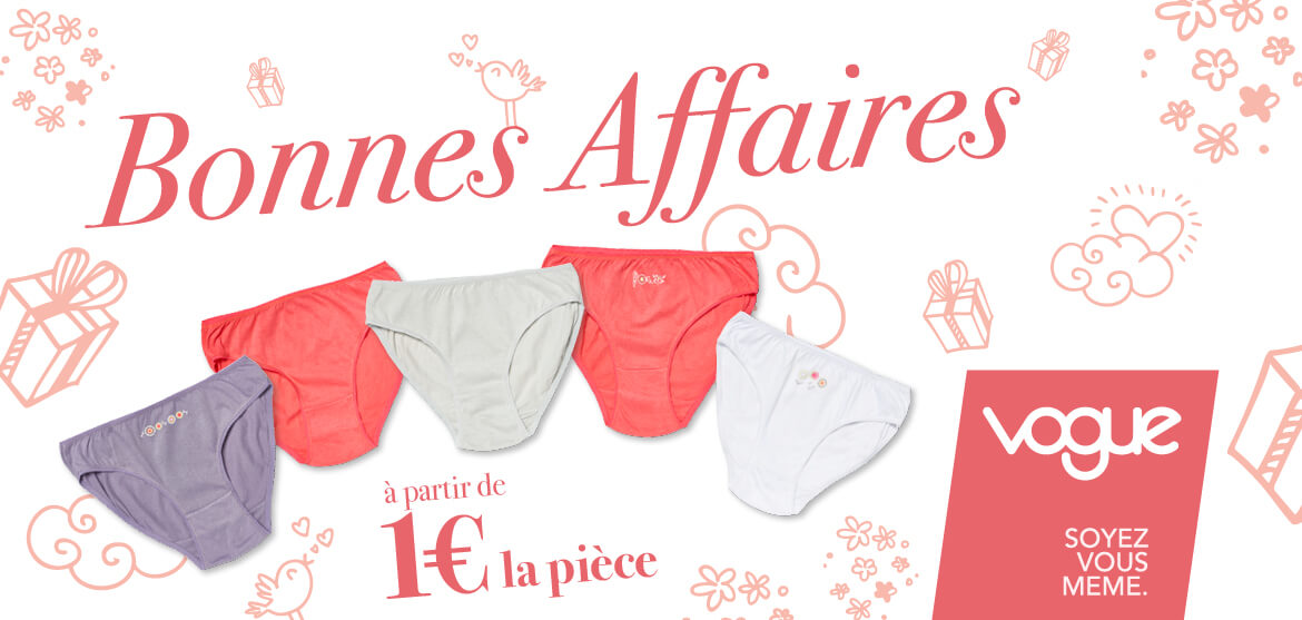 Collection bonnes affaires
